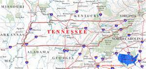 us map tennessee tennessee maps