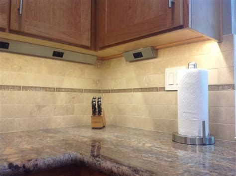 under cabinet plug strips kitchen hidden under counter outlets traditional kitchen san