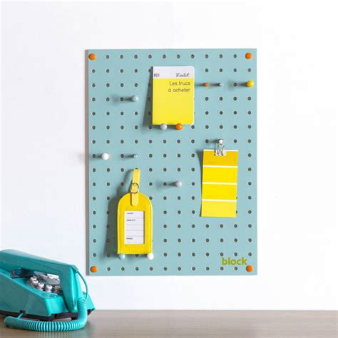 white pegboard with wooden pegs small by block design blue pegboard with wooden pegs small by block design