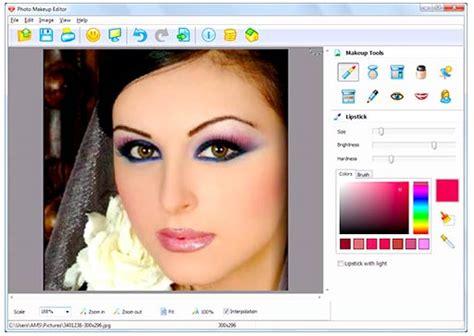 Lipstik Make Di Matahari menambah make up pada foto dengan photo makeup editor psddesain net