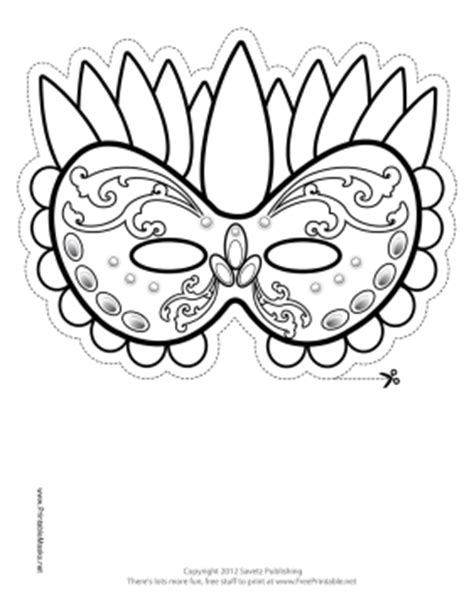 printable ram mask search results for outline of a mardi gras mask