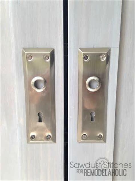 remodelaholic bifold door makeover into doors