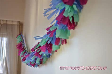 como hacer cadenas de papel china para halloween como hacer guirnaldas de papel crepe facilisimo