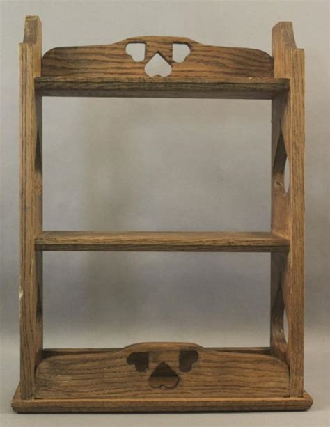 small country style wooden bookshelf
