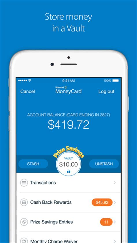 walmart money card app for android walmart moneycard app android apk