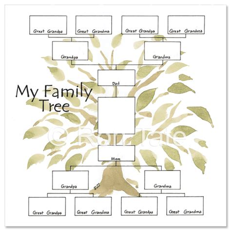 printable family tree chart 4 generations image of family tree chart 4 generation family tree