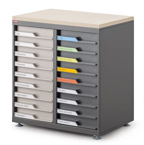 bureau a tiroir armoires de bureau 224 tiroir en fa 231 ade ubia mobilier