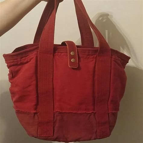 Gap Productred Canvas Tote by 67 Gap Handbags Gap Quot Quot Canvas Bag From S