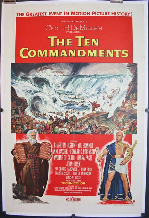 hairstyleposters for sale ten commandments original style a movie poster for sale