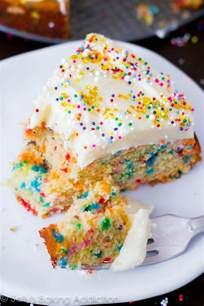 funfetti cake from scratch recipe dishmaps