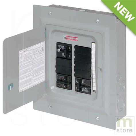 Panel Board 100 breaker panel electrical board 20 circuit 10 space load center ebay