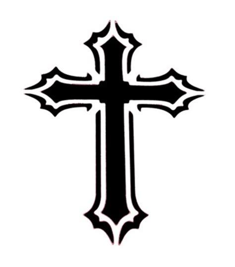 tattoo cross templates stencil cross