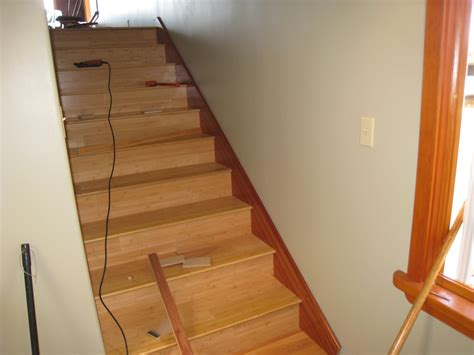 stair skirt angle staircase gallery