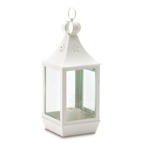 large cutwork white shabby garden lantern light chic