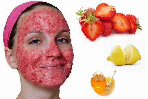 Masker Wajah Di Salon cara membuat masker strawberry untuk merawat wajah