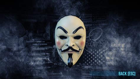 Topeng Payday Mask Payday 1 real anonymous mask mods
