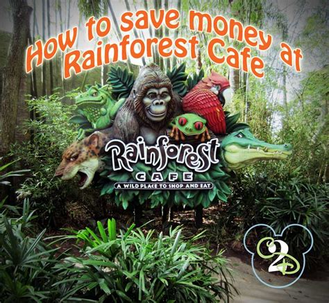 printable food coupons for disney world disney training how to save more at the rainforest cafe