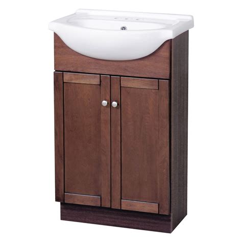 bathroom vanity sink combo columbia combo 22 quot vanity and sink cherry home surplus