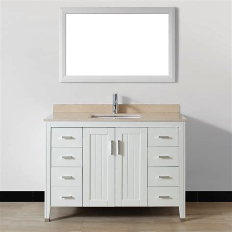 Bathroom Vanities Discount Avanity 48 Quot Traditional Single Discount Bathroom Vanity Cabinets Discount Bathroom