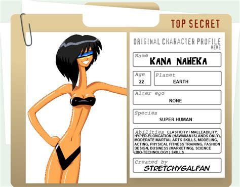 kana naheka character profile by stretchygalfan on deviantart