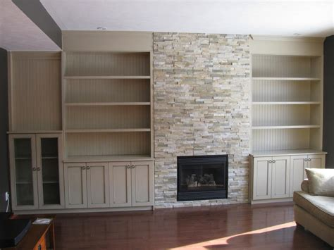 Fireplace Cabinets by Everlast Custom Cabinets Custom Kitchens Cabinetry