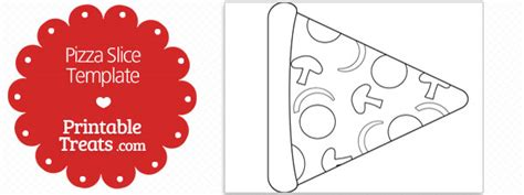 printable pizza tickets printable pizza slice shape template printable treats com
