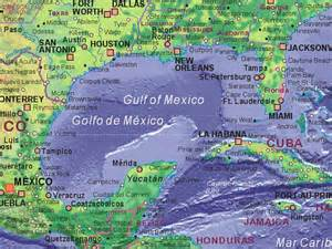 map us states gulf mexico major cities around the gulf of mexico gulf of mexico