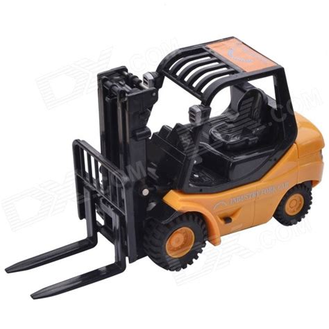 desk toys for engineers desktop 6 ch radio remote control engineering forklift toy