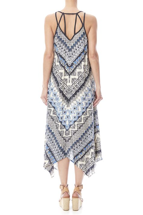 angie tribal print dress from cambria by heir