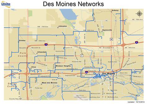 des moines metro fiber maps upn