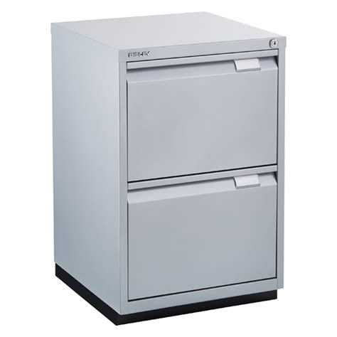 Bisley 2 Drawer Filing Cabinet Bisley Silver Premium 2 Drawer Locking Filing Cabinet The Container Store