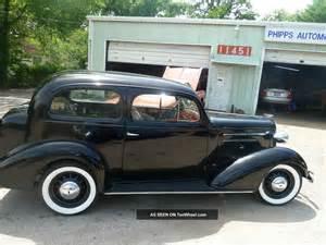 1936 Chevrolet Sedan 1936 Chevy 2dr Master Deluxe Sedan Zero Rust Survivor