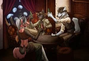 Steampunk furries photo in linkfinity minecraft profile minebook