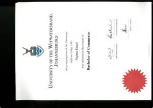Curriculum Vitae Education by Wits Degree