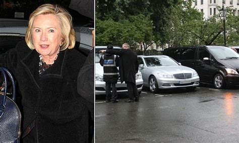 Hilarys Kindness Gets Out Of Traffic Ticket by Fearless Traffic Warden Puts Ticket On Clinton S