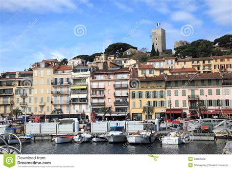 porto di cannes centro storico e vecchio porto di cannes immagine