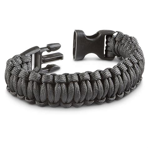 3 Paracord Military Survival Bracelets   213249, Survival Gear at Sportsman's Guide