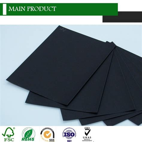 Kertas Tebal berkilau hitam kertas foto tebal hitam kertas karton