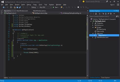 yii2 translation tutorial creating splash screen in wpf testing splash screen