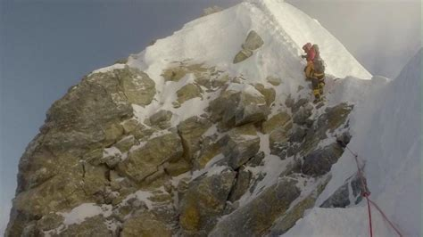 film everest hillary has everest s landmark hillary step really disappeared