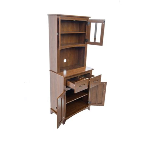 microwave cabinets with hutch microwave pantry cabinet with microwave insert at hayneedle buffet hutch china cabinets