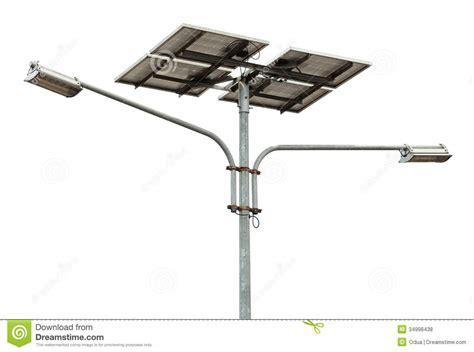 solar powered street l solar powered street light stock photo image of ecology