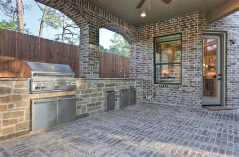 brick outdoor kitchen nestquest tips and inspiration on how to lay a brick patio