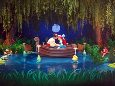 New scenes from voyage of the little mermaid in the magic kingdom at walt disney world wdw