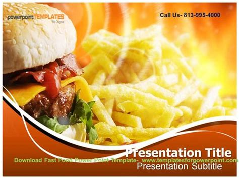 Online Downaload Fast Food Powerpoint Template Authorstream Fast Food Powerpoint Template