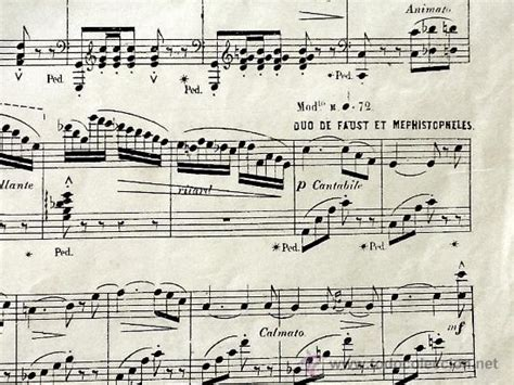 imagenes partituras antiguas partituras antiguas para piano francia faust comprar