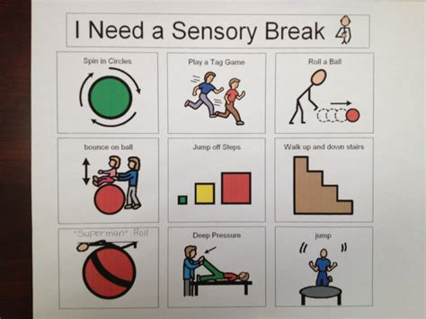 i need a room sensory visual cards for autism special needs http greenbeankindergarten