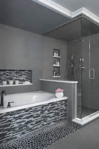 black tile bathroom ideas 25 black and white mosaic bathroom tile ideas and pictures