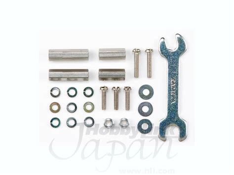 Tamiya Hex Mount Set 10mm15mm gp 395 hex mount set 10mm 15mm by tamiya hobbylink japan