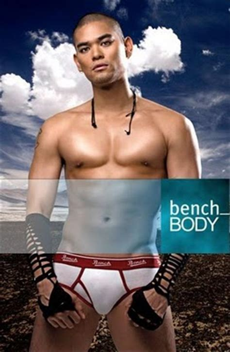 bench underwear model bench body launches its new models